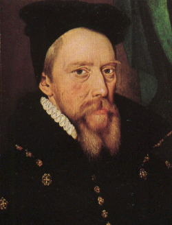 William Cecil, Baron Burghley: circa 1570 . - pict1101